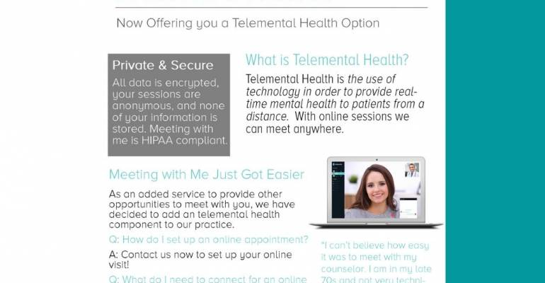 Telehealth -video appointments